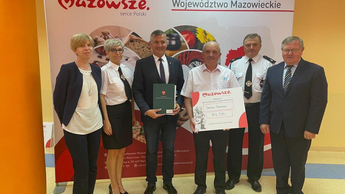 Samorząd Województwa Mazowieckiego wspiera Ochotnicze Straże Pożarne
