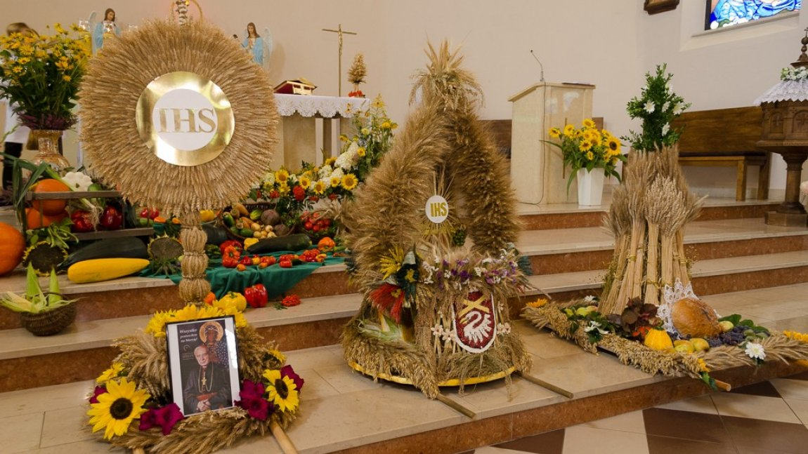 Dożynki parafialne w Rusinowie