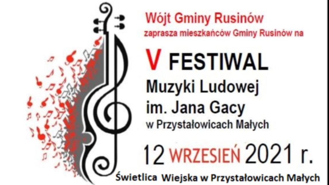 V Festiwal Muzyki Ludowej im. Jana Gacy w Przystałowicach Małych