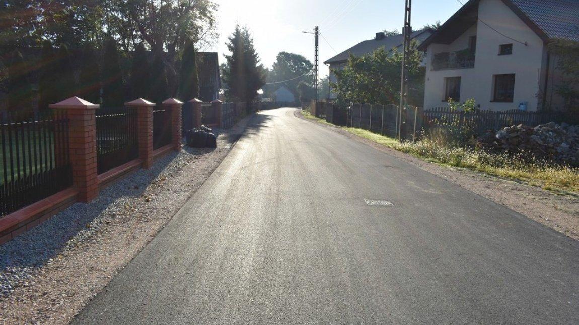 Zakończył się remont ulicy Zacisznej w Rusinowie